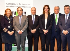 La Conferencia de Consejos Sociales aborda en Gran Canaria los principales retos del sistema universitario español