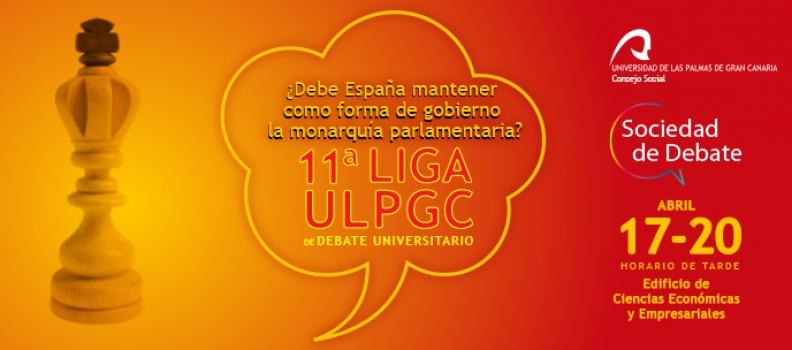 El Consejo Social abre la inscripción de la XI Liga ULPGC de Debate Universitario
