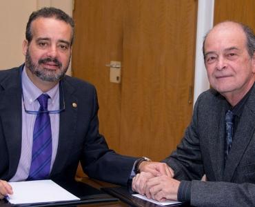 Primer encuentro institucional del nuevo Rector de la ULPGC y el Presidente del Consejo Social