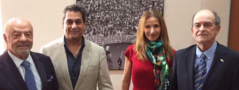 Los presidentes de los Consejos Sociales de las Universidades Públicas Canarias se coordinan